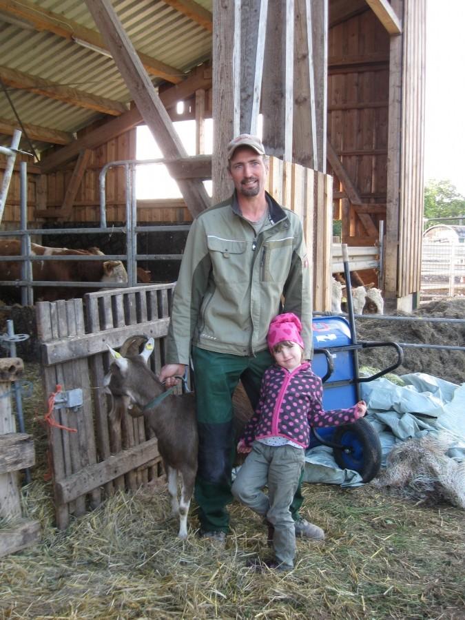 Junge landwirte kennenlernen